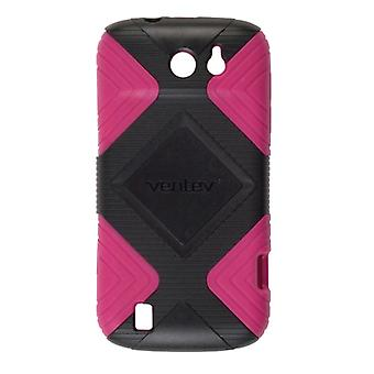 Ventev Geo Case for Sprint Flash, ZTE Flash - Pink/Black