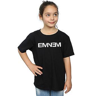 Eminem chicas llano texto t-shirt