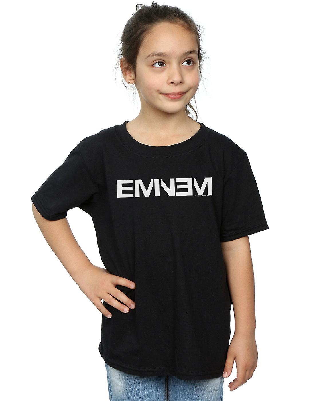 Eminem Girls Plain Text T-Shirt