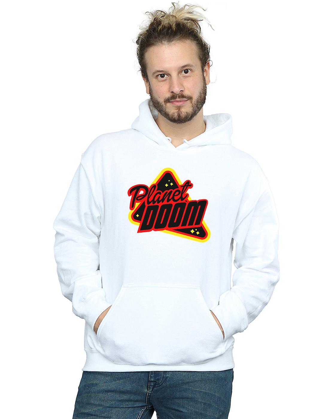 Ready Player One Men's Planet Doom Logo Hoodie