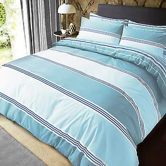 Pieridae Banded Stripe Duvet Cover Bedding Set