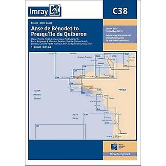 Imray Chart - Anse de Benodet to Presqu'ile de Quiberon (New edition)