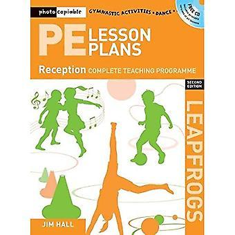 Planos de lição PE ano r: Photocopiable atividades de ginástica, dança e jogos programas (Salta) de ensino
