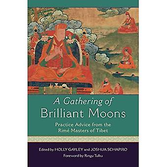 A Gathering of Brilliant Moons: Practice Advice from the Rime Masters of Tibet (Paperback)