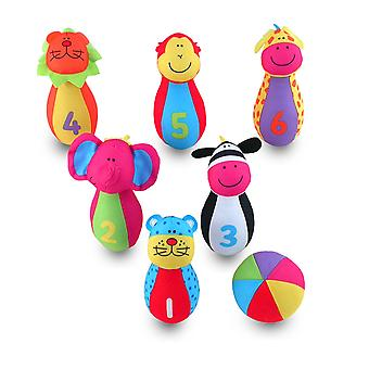 Galt игрушки джунгли Pals кегли