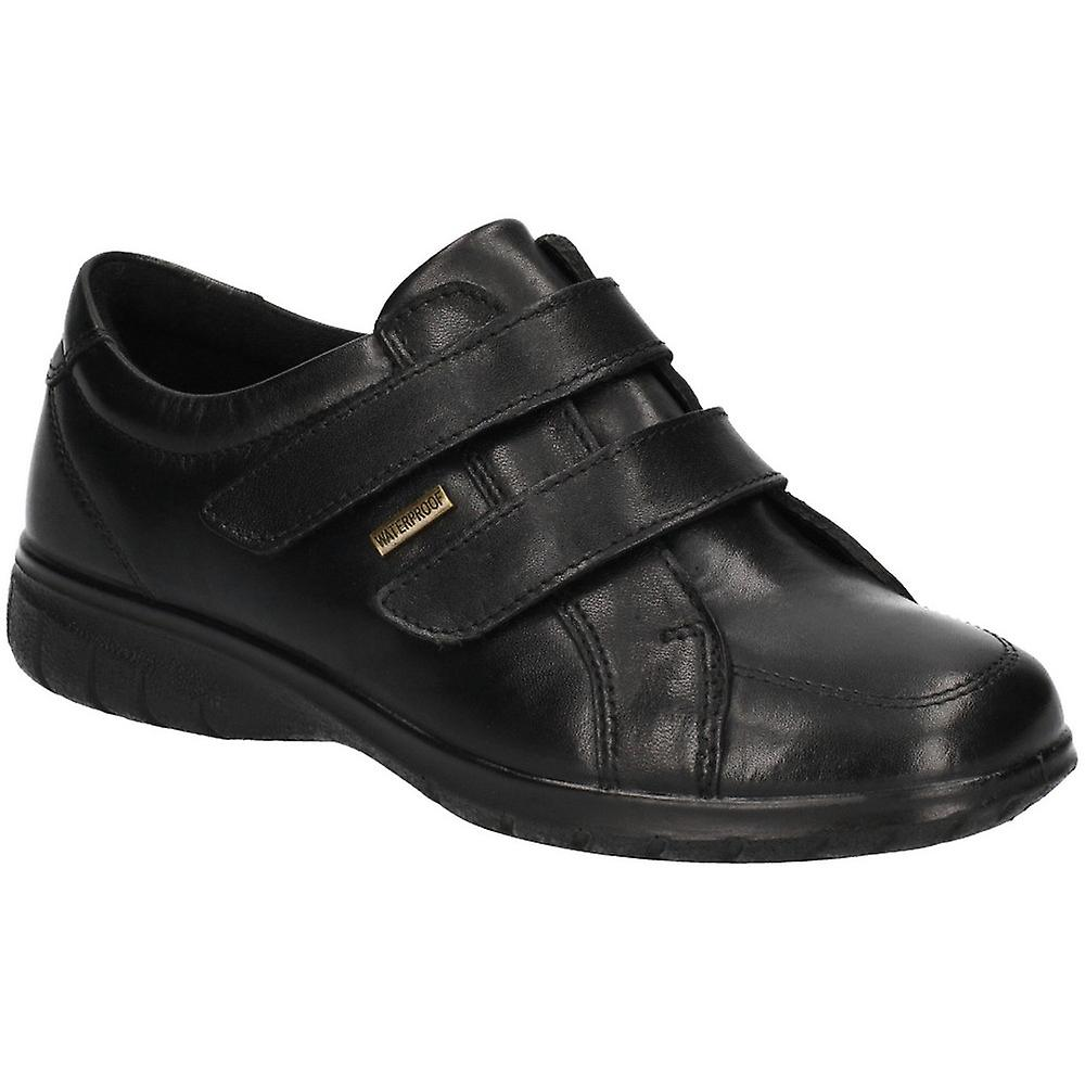 Cotswold Womens Haythrop Easy Wear Apron Toe Leather Shoes GFiCV