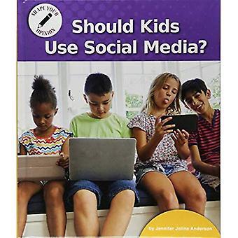 Moeten kinderen gebruiken Social Media? (Vorm uw mening)