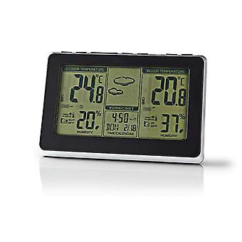 Weather station for indoors and outdoors with alarm clock 400BK