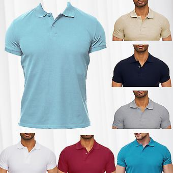 Polo T-Shirt Men's England Shirt Leisure LOOMER Quality Summer Club Standing Collar