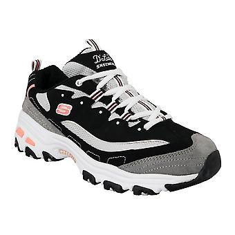 Skechers D'Lites New Journey 11947-BKWG Womens sneakers