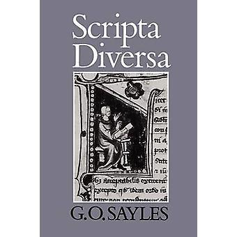 Scripta Diversa von Sayles & G. O.