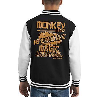Monkey Magic lietajúce mraky pukiest na každý pop Kid ' s Varsity bunda