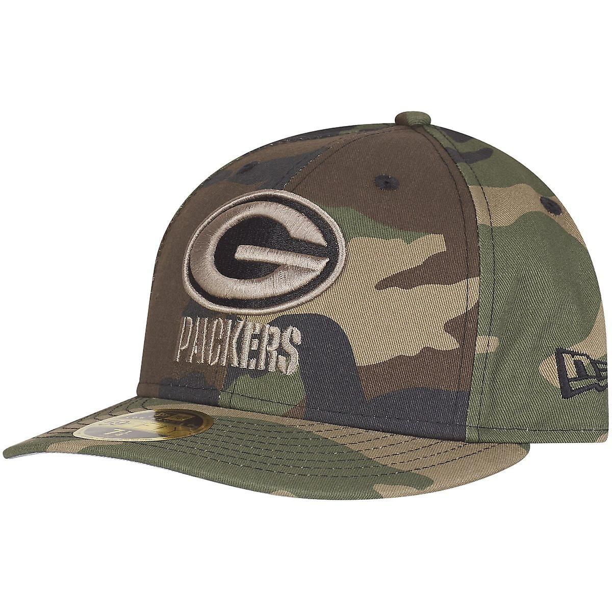 New Era 59fifty Low Profile Cap Green Bay Packers Camo Fruugo Us