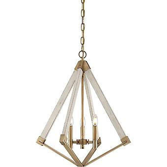 Ort-3 Light Chandelier-Messing-Finish-QZ/VIEWPOINT/S