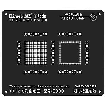 QianLi BGA Stencil Template - A9 CPU Module - iPhone 6S - E300
