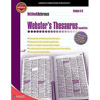 Notebook Reference Webster's Thesaurus (2nd) by American Education Pu
