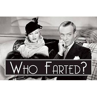 Who Farted? by Quentin Hornblower - 9780859655132 Book