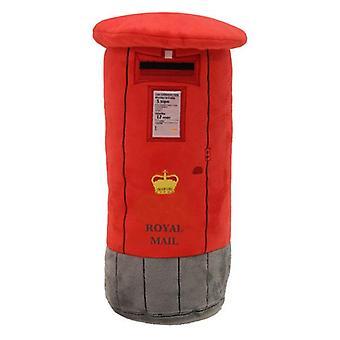 Licensed red post box plush cushion (hrd-pos)