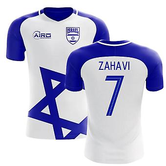 2020-2021 Israel Home Concept Football Shirt (Zahavi 7) - Kids