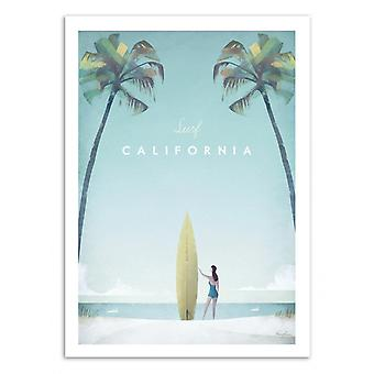 Art-Poster - Visit California - Henry Rivers