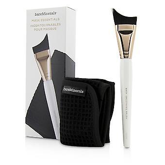 BareMinerals masca Essentials-perie netezit și îndepărtarea pânză-2 buc