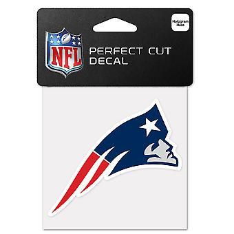 Wincraft sticker 10x10cm - New England Patriots van de NFL