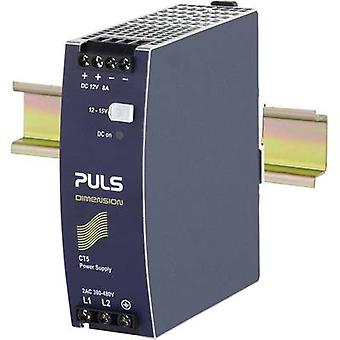 PULS DIMENSION CT5.121 Rail mounted PSU (DIN) 12 Vdc 8 A 96 W 1 x