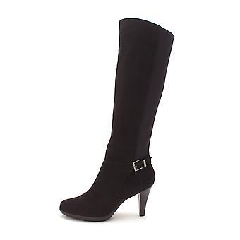 Alfani femei Vennuss Almond Toe Mid-vițel cizme de moda