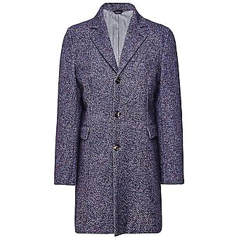 Circolo 1901 Stretch Slim Fit Herringbone Coat