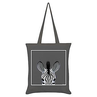 Inquisitive Creatures Zebra Tote Bag