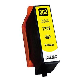 Yellow Compatible Inkjet Cartridge Replacement For 302XL