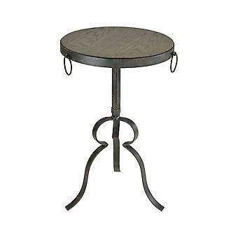 Circa round end table