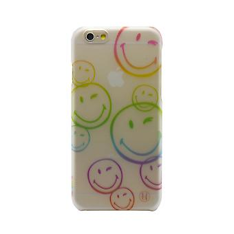 X Smiley iPhone 6 Plus Ultra Slim Graphics Flexi Hard Shell