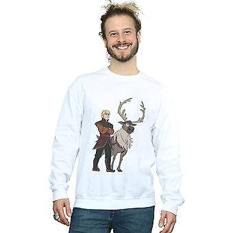 Disney Men's Frozen 2 Sven And Kristoff Sweatshirt