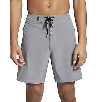 Hurley Phantom One & Nur 18' Mid Length Boardshorts in Cool Grey