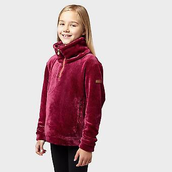 Nieuwe Regatta meisjes ' keera half Zip Fleece roze
