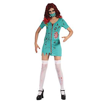 Bristol Novelty Womens/Ladies Zombie Surgeon Lady Costume Bristol Novelty Womens/Ladies Zombie Surgeon Lady Costume Bristol Novelty Womens/Ladies Zombie Surgeon Lady Costume Bristol Novel