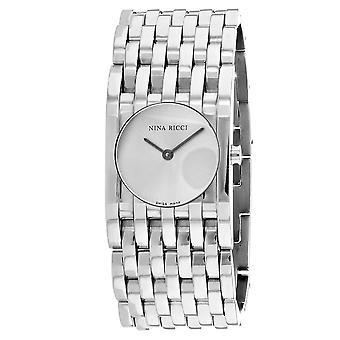 Nina Ricci Women's Classic Silver Dial Watch - 62130S