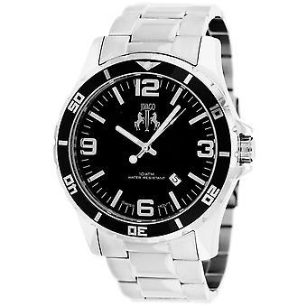 Jivago Men's Ultimate Black Dial Watch - JV6117