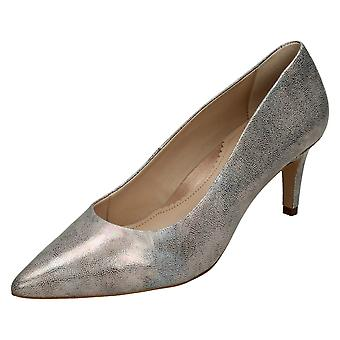 Ladies Van Dal Printed Heeled Court Shoe Juneau