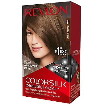 Revlon colorsilk beautiful color, #41 medium brown, 1 kit