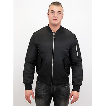 BomberJack - Bomber Jacket Basic - Black
