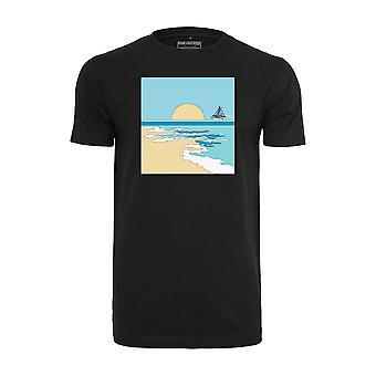 Pink Dolphin Men's T-Shirt Horizon