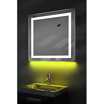 Ambient Shaver LED Bathroom Mirror With Demister Pad & Sensor k176iw