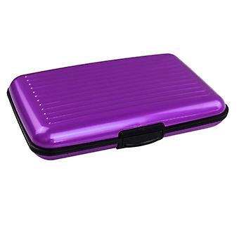 Secure Card Holder-Purple