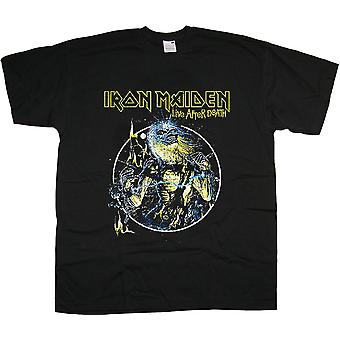 Iron Maiden Live na de dood Steve Harris Rock officiële T-shirt