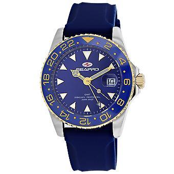 Seapro Men's Reloj de marcación azul - SP0124