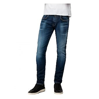 Replay Jeans Replay Hyperflex Bio Organic Cotton Deep Blue Indigo