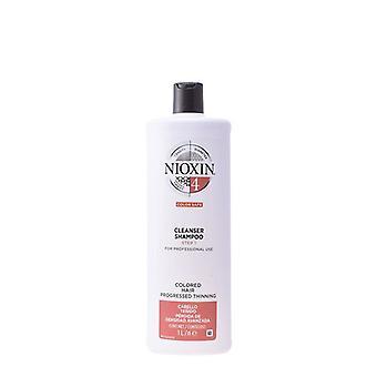 Système de shampooing volumising 4 Nioxin Cheveux fins/1000 ml