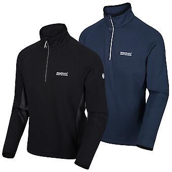 Regatta Herre Highton Halv Zip Fleece Stretch Sweater